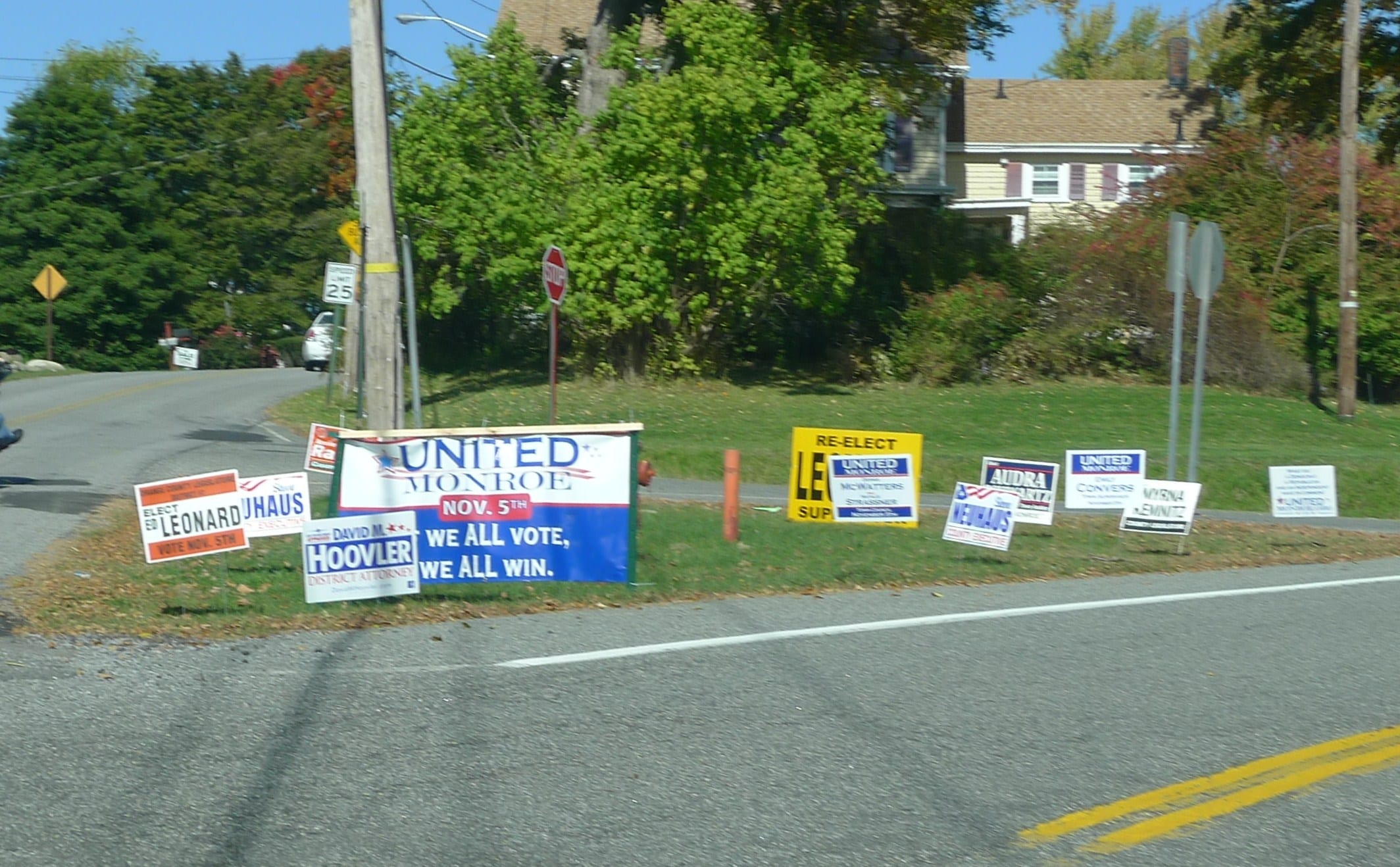 Monroe, NY 2013 election results