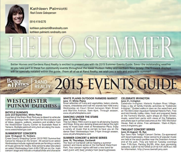 2015 summer events
