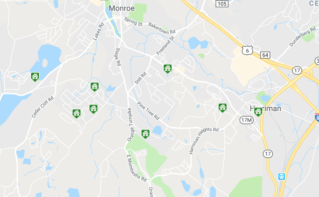 Monroe NY Real Estate Inventory - June 17 - 23, 2018