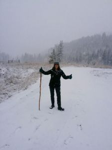 My first winter in Montana