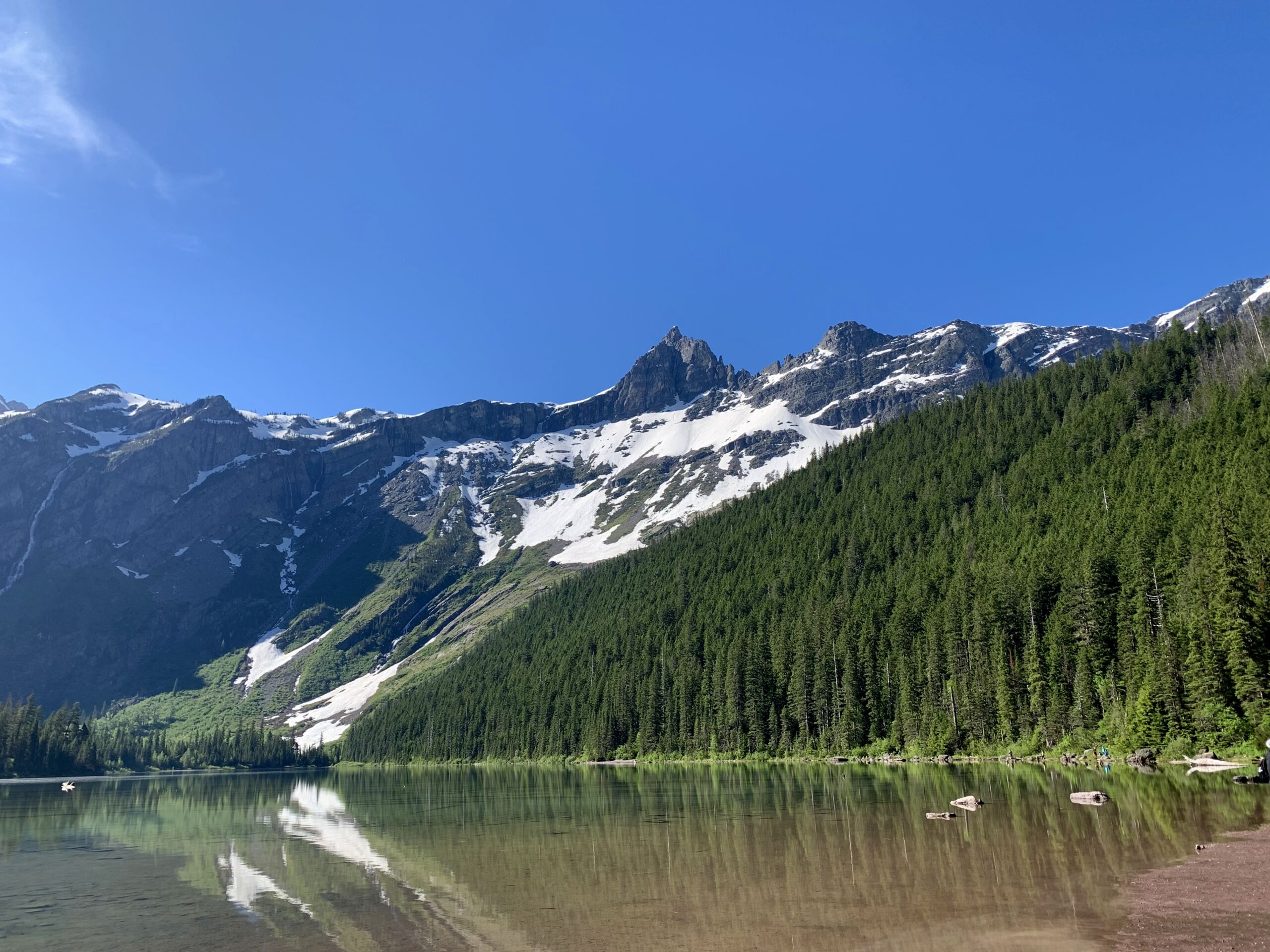 Hike to Avalanche Lake: Glacier National Park - Avalanche Lake photo
