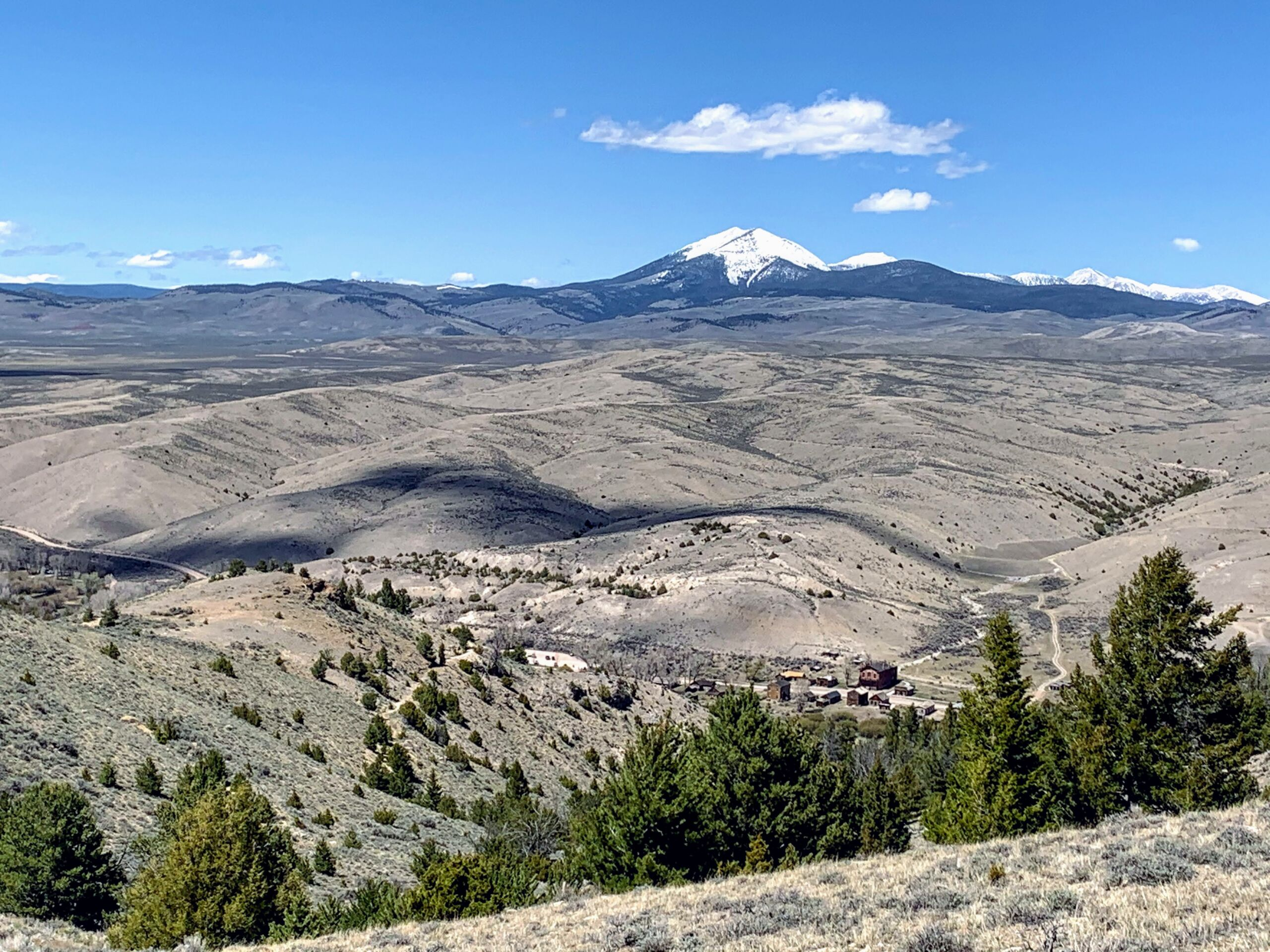 Bannack State Park MT: Camping, Hiking and a Ghost Town photo of town