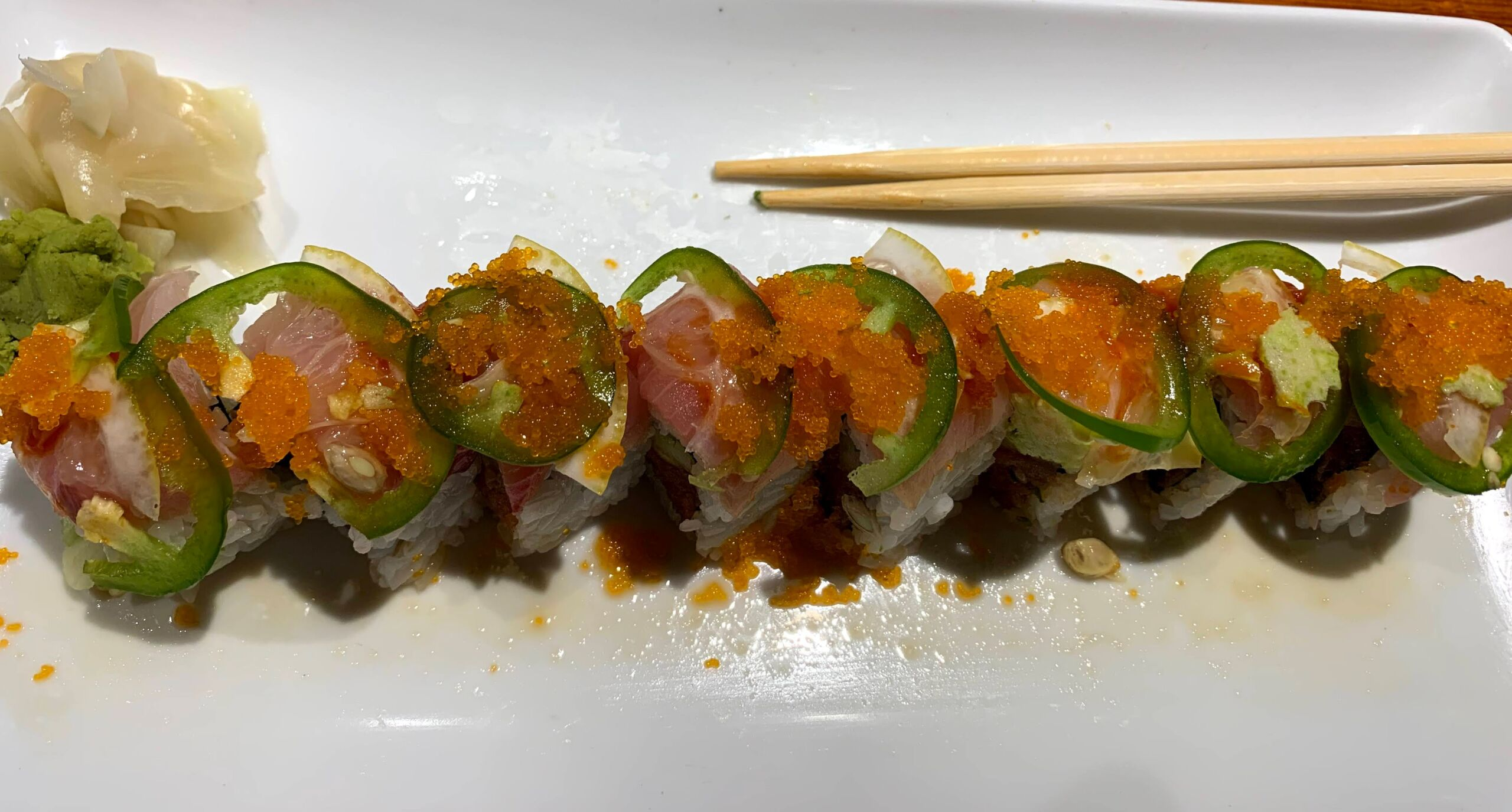 Can you really get good sushi in Kalispell MT? Photo of heavenly roll